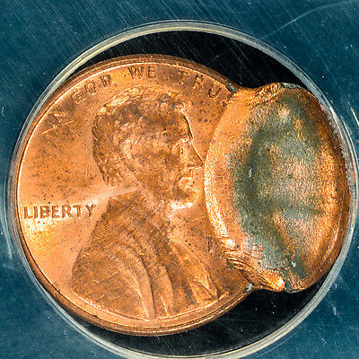 1983-D Lincoln Cent Flipover Double Struck ANACS Graded MS62RB