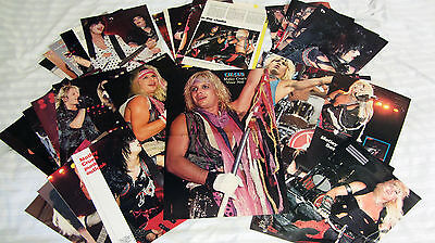 POSTER A-3  MOTLEY CRUE (CIRCUS-Vince Neil) +35 Pin UP