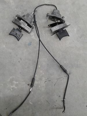 2008 Arctic cat m1000 crossfire Exhaust valves and cables.