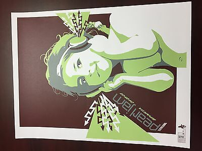 Pearl Jam Cleveland Poster 2003