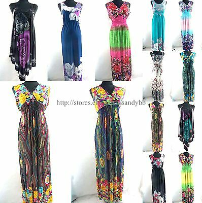 US Seller- 10pcs summer clothing ladies wholesale summer maxi dresses