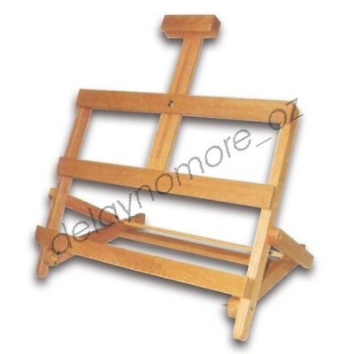 Square Table Easel Pine Wood Wooden Art Display Painting Stand Wedding Party