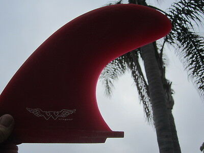 Big Red  10'' Wingnut Fiberglass  Fin Pre Owned!