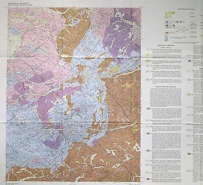 USGS GOLD HILL, COLORADO GEOLOGIC MAP, Full Color Map Original Sleeve 1980
