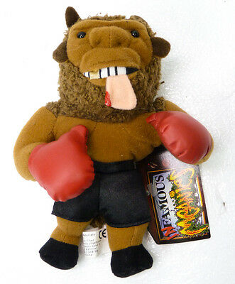 Mike Tyson Bison Boxer - MEANIES Bean Bag Plush Spoof Toy 1997 Infamous Series