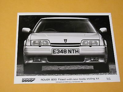 Rover 800 Original Press Photo.....