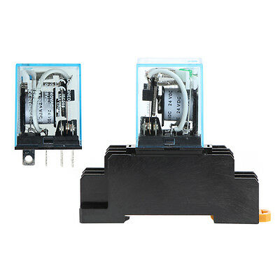 8 Pin Relay AC 220V DC 24/12V MY4NJ LY2NJ MY2NJ Power Relay Intermediate MY4N-J