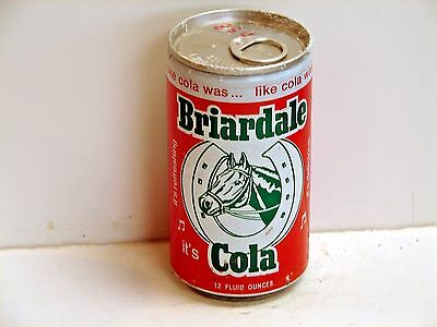 Briardale Cola; 7-up Bottling Company of Phila.; Conshohocken, PA; Soda pop can