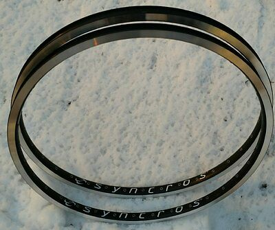 Oldschool Mtb Nos Syncros Big Box Rim Set 32 Hole Double Wall Double Eyeletted!