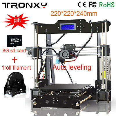 Big Printing Size 3D Printer Auto leveling Optional Melzi 2.0 Reprap i3 Heatbed