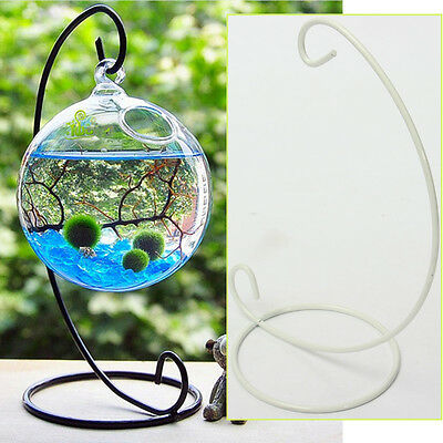 Romantic Wedding Party Candle Holder Glass Ball Lantern Hanging Candlestick