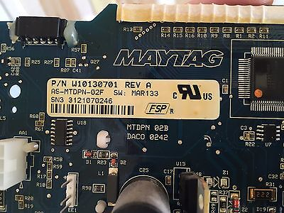 Maytag Washer Control Board W10130701 Commercial Coin Op