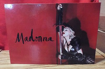Madonna Rebel Heart Tour Book - Limited Edition & Numbered (22401) VIP - 2015