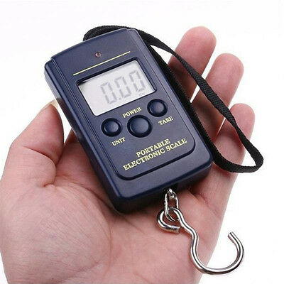 New Pocket Electronic Digital Scale 40 kg Hanging Luggage Weight Steelyard 2017