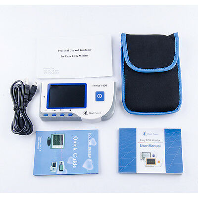 Good HEAL FORCE PRINCE Handheld ECG EKG Portable Heart Monitor 180B