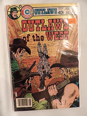 #83 Outlaws of the West 1979 Charlton Comics B407