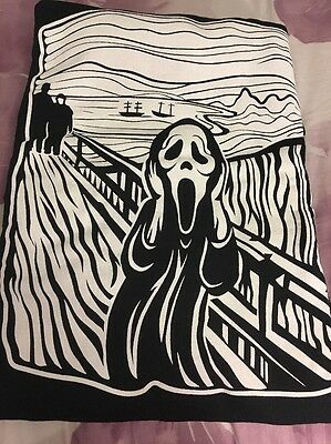 Loot Crate DX exclusive SCREAM  Sweat shirt 2XL The Scream by Edvard Munch