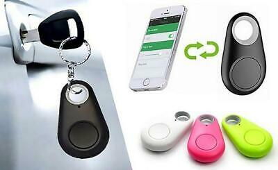 4-in-1 Bluetooth Anti-Loss Keychain Tracker in Black, Blue, Green, Pink, White