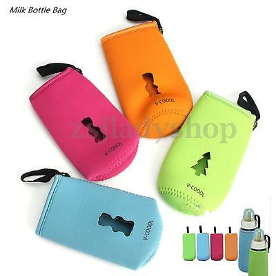 Comfortable Baby Milk Bottle Insulated Keep Warm Holder Storage Bag Pouch Cover