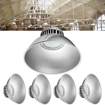 3X 100W LED High Bay Light Lamp Factory Warehouse Industrial Shed Roof Lighting
