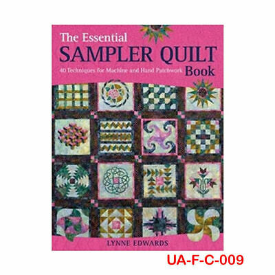 The Essential Sampler Quilt Book By Lynne Edwards, NEW Paperback 9780715336137