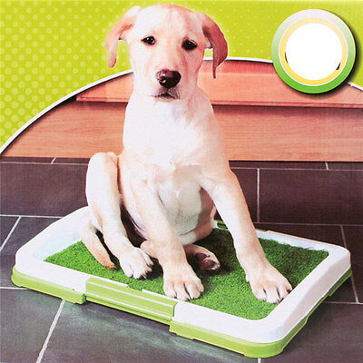 Indoor Dog Pet House Potty Toilet Training Pee Clean Pad Mat Tray 3 Tier Tools