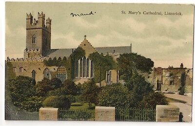 St Mary's Cathedral, Limerick c1910