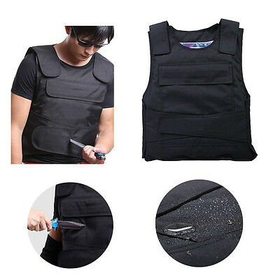 UK Stab Proof Vest knife Protective Anti Stab Security Vest Outdoor Self-defense