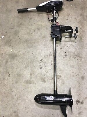 Jarvis Marine Watersnake Electric Boat Motor Bow TM44 12V - 44 lbs