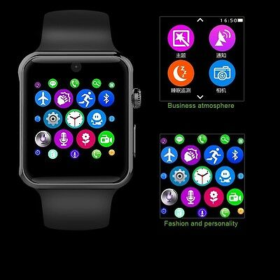 Bluetooth Smart Watch for Samsung iPhone ios Android Phone with Camera SIM