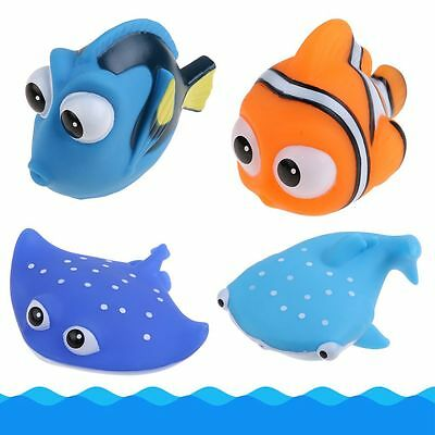 Finding Dory Bath Squirters Toys Squirt Water Figures Swim for Kids Baby Shower