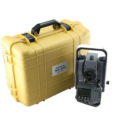 """New Topcon Gowin Tks-202 2"""" Total Station For Surveying"""