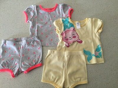 Baby Girl PJ Set (2 In Total Size 0)