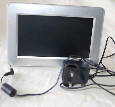 Logik Digital Photo Picture Screen- Silver- Model Number Pf-A700S