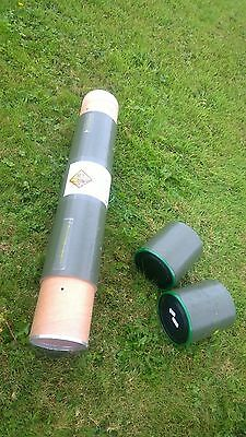 Tank shell cases-paintball- art storage- architect plans storage -81cm by 11cm