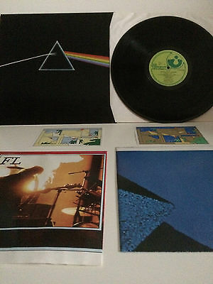 Pink Floyd – The Dark Side Of The Moon – Vinyl Lp With 2 Posters & 2 Postcards