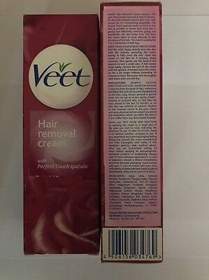 Veet Hair Removal Cream With Perfect Touch Spatula 90g