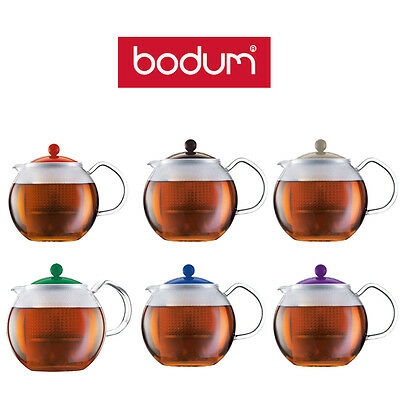 Bodum Assam Tea Coffee Press Filter Teapot Maker, 0.5L