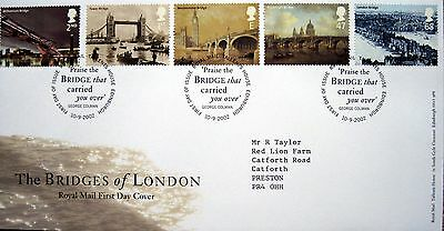 ROYAL MAIL FIRST DAY COVER  The Bridges of London