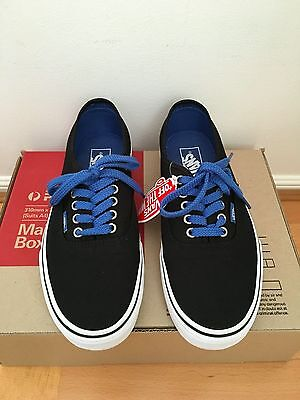 Black VANS shoes size Men 7.5/ Women 9