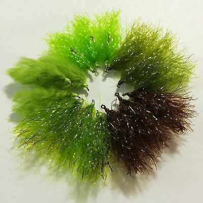 BWCflies Ultimate Mixed Weed fly pack for Blackfish and Luderick