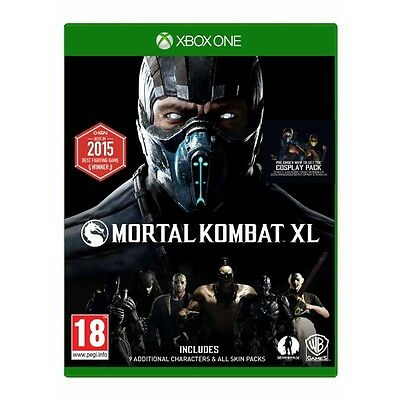 Mortal Kombat XL Xbox One Game Brand New