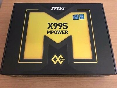 Intel i7 5930K with X99S MSI MPower Motherboard, Bundle