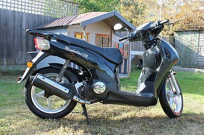 Manhattan Scooter 125 only traveled 68km