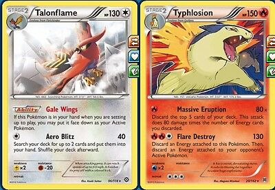 Complete Typhlosion Talonflame Budget Deck in Standard for Pokemon TCG Online