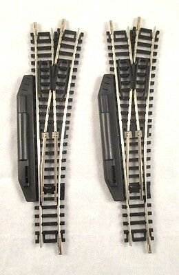 2 Roco Manual Right Hand Points - N Gauge