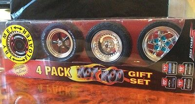 Road champs fly wheels 4 Pack 'Hot Rod'  Model Wheels