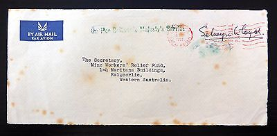 GB 1959 O.H.M.S. Foreign Office Cover Front to Australia SEE BELOW XZ426