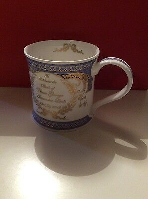Dunoon Prince George's birth Quality Mug PERFECT **BRAND NEW** Excellent quality