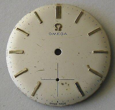 Omega Dial with Sub Seconds 29.5 mm Diameter / Esfera Omega 29.5 mm